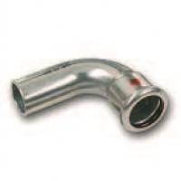 SANHA Therm пресс-фитинг, отвод 90°, ВПр-НПр (Внутренний пресс-Наружный пресс)