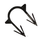 Скоба якорная черная