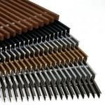 Решетка дюралюминиевая для конвектора FanCOil (300мм)